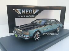 NEO SCALE MODEL 1/43 Cadillac Seville MKII 1981 Blue Art. NEO43727