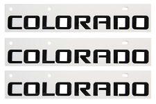 Chevrolet Colorado Emblem In Black GM OEM 84471222 (Set of 3)