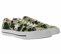 Converse One Star OX Canvas-Sneaker angesagte Herren Low Top Schuhe Camouflage