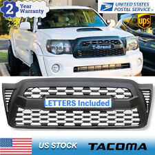 For Tacoma 2005-2011 Matte Black ​Front Hood Grill Bumper Grille