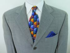 Hugo Boss Loro Piana Italy Men Twister Wool Blazer Jacket Sport Coat 40/41 R USA