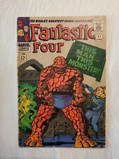 Fantastic Four #51 1966 Jack Kirby Cover! Marvel Comics