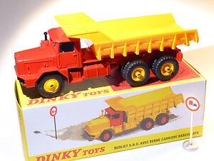Truck Berliet Gbo 6x6 Benne Career Tilting -ref 572 to the / Of 1/43 DINKY Atlas