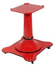 Piedistallo verniciato rosso con ruote per affettatrici a volano mm 350/370 Fac
