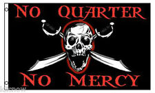 NO QUARTER NO MERCY FLAG 5FT X 3FT