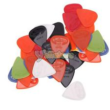 48Pcs Nylon Acoustic Electric Guitar Picks Plectrums Assorted Thickness & Colors
