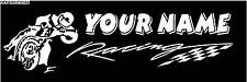 Personalized Flat Track Dirt Racing Banner AMA XR750