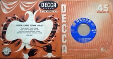 ANTON KARAS - ZITHER SOLOS - DECCA LABEL - EXTENDED PLAY - U.K. PRESSING