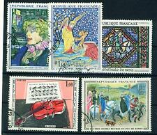 France Arts Louvre Famous Paintings serie set #3 1965