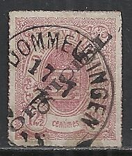Luxembourg stamps 1875 YV Service 4 DOMMELDINGEN  CANC  VF