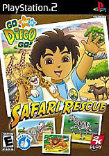 Go, Diego, Go! Safari Rescue NEW factory sealed PlayStation 2 PS2