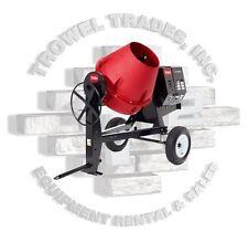 Toro 68009 Cm-958H-P Concrete Mixer Stone 95Cmp 8Hp Honda Poly Drum Side Dump