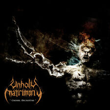 Unholy Matrimony-Croire, Decroitre CD  sinks into a blackness and a coldness