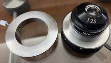 Leica Microscope Abbe Condenser 1.25 Rare Optical Medical Science Clear Optics