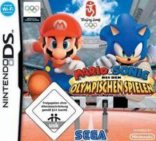 NINTENDO DS 3DS MARIO und SONIC bei den OLYMPISCHEN SOMMER SPIELEN Neuwertig