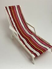 EUC Vintage Barbie Go Together Patio Furniture Lounge Chaise Chair