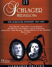 """SCHLAGER MEDAILLONS """"Die Schlager-Steinzeit"""" 1905-1919"""" 2CD-Box NEU & OVP"""