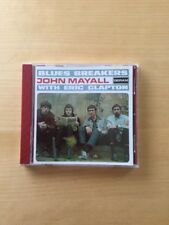 Blues Breakers With Eric Clapton's Mono/Stereo Double CD in Excellent Condition
