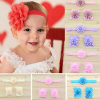 Bands Flowers Headband Foot Flowers Baby Head Flower Infants Accessories