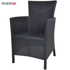 Diningsessel Anthracite Garden Chair Rattan Armchair Furniture