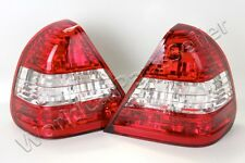 Tail Lights Rear Lamps LEFT+RIGHT PAIR Fits MERCEDES C-Class W202 Sedan 94-00