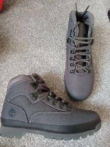 Mens grey Timberland Boots size UK 8 EU 42, brand new