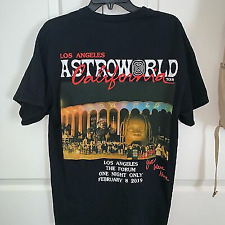 Travis Scott Astroworld Tour Merch 2019 Reprint T Shirt Vintage Men Gift Tee