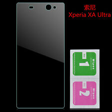 For Sony Xperia XA Ultra 9H Tempered Glass Clear Screen Cover Film Protector F9