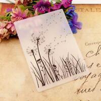 Plastic Embossing Folder Template DIY Scrapbook Photo Album Card Making