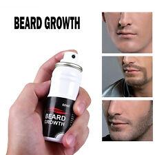 Beard Growth Spray Fast Grow Natural Stimulator 100% Hair Grower Sprai Bear 60ml