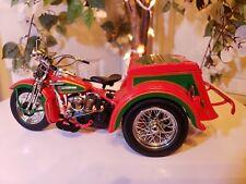 Franklin Mint Harley Davidson 1947 Servi Car 2004 Christmas Ltd Ed