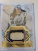 2019-20 UD ENGRAINED DAVE ANDREYCHUK SP /35  NEW STICK REMNANTS TB LIGHTNING