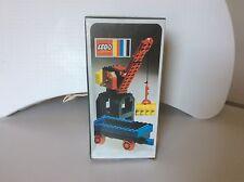 LEGO Legoland vintage Train 4,5 V 132  {Port Crane and Flat Waggon} sealed misb