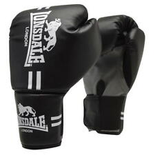 NEW LONSDALE CONTENDER TRAINING BOXING GLOVES SIZE L/XL BLACK  WORKOUT TRAINING