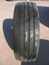 285/70r19.5 gomma usata pneumatico riscolpito autocarro 285 70 19,5  kumho -c76
