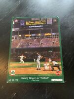 Texas Rangers Limited Edtion Kenny Rogers Perfect Game - 50k Made - 1994 - MLB