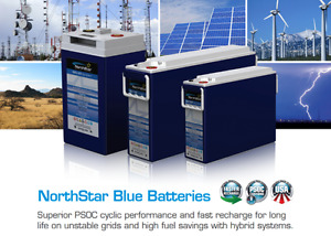 NORTHSTAR NSB BLUE+ RANGE AGM Battery® Thin Plate Lead Carbon ultrafast recharge