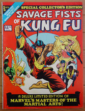 SAVAGE FISTS OF KUNG FU - Marvel Collector's Edition #1 - 1975