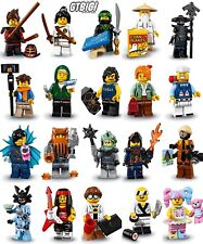 LEGO 71019  THE NINJAGO MOVIE   `` COLECCION COMPLETA ´´  20 MINIFIGURAS