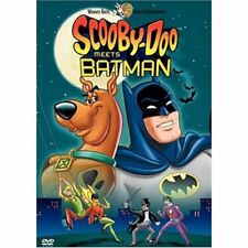 Scooby-Doo Meets Batman Animated DC Comic Book Superhero Sci/Fi fantasy DVD