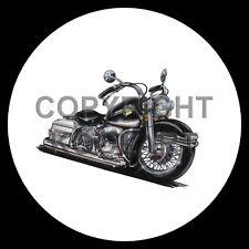Koolart 4x4 4 x 4 Spare Wheel Graphic Harley Davidson Electra Glide Sticker 499
