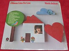 A Woman Lives For Love By Wanda Jackson [Vinyl LP, Capitol, ST-554]