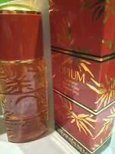 Original YVES SAINT LAURENT OPIUM Paris Eau de Toilette 50ml EDT 100%  Voll 1984