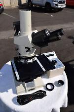 Nikon Optiphot Microscope Olympus Tgh Light Trinocular Instrument Guaranteed