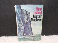 Vintage 1971 Bear Island by Alistair MacLean, International Cast Hardback Book