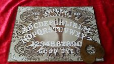 Wooden Ouija Board Bizarre Magic Hand & Planchette Instructions Ghost ESP seance