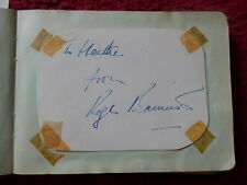 FIRST SUB 4 MINUTE MILE RUNNER ROGER BANNISTER AUTOGRAPH