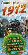 Europa 1912 Expansion Ticket To Ride Europe Board Game Days Of Wonder Asmodee