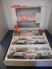 Lionel #8851 New Haven F3 AA-Units & 8864 New Haven Dummy F3 B-Unit (DM)