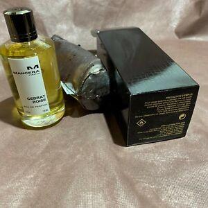 Mancera Cedrat Boise  Eau De Parfum 120ml /4 fl oz Spray Regular Size In Box Tst